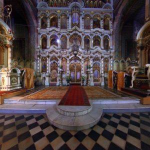 Biserica din Fabric pictată de Ioan Zaicu