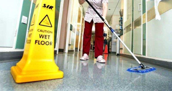 spital curatenie