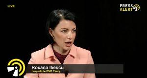 Roxana Iliescu, președintele Mișcării Populare Timiș pressalert live interviu