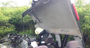 masina spulberata accident lugoj
