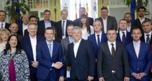 Sorin Grindeanu, la depunerea candidaturilor PSD pentru CJ Timiş