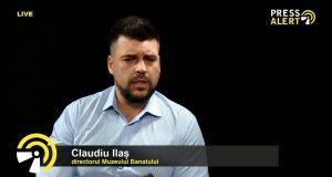 Claudiu Ilaș, directorul Muzeului Banatului, pressalert live timisoara