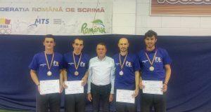 Băieții de la CSU Politehnica, de neoprit la Naționale. Foto: frscrima.ro
