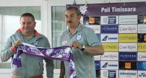 Ionuț Popa, prezentat la ACS Poli de președintele Ioan Miculaș