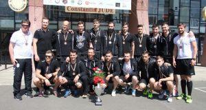 CH Poli Timișoara, cu trofeul și medaliile de bronz