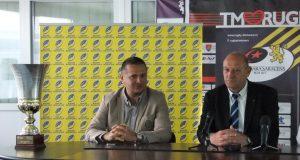 Haralambie Dumitraș (foto, dreapta), șeful FRR, a vorbit înaintea finalei Cupei României