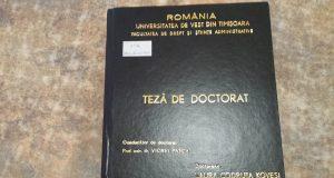 doctorat kovesi