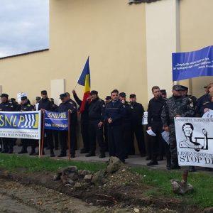 protest penitenciar