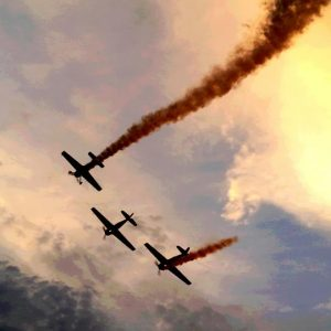 spectacol aviatic