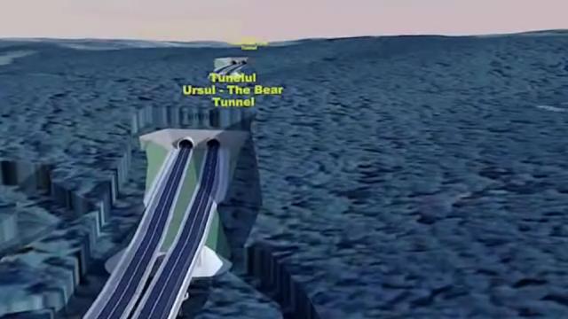 tunel ursi