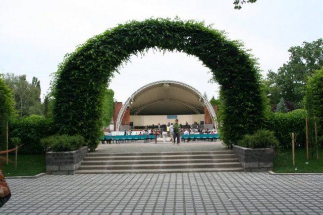 parcul rozelor
