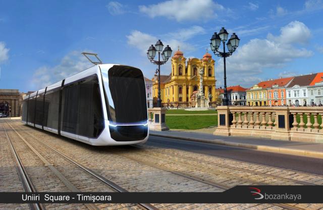 tramvai modern