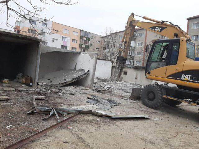 demolare garaj